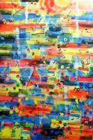 Obraz do salonu artysty Dariusz Grajek pod tytułem Słońce i żagle....