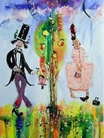 Obraz do salonu artysty Dariusz Grajek pod tytułem Eden...