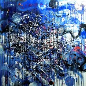 Obraz do salonu artysty Dariusz Grajek pod tytułem Lśnienie...