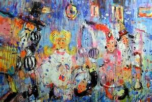 Obraz do salonu artysty Dariusz Grajek pod tytułem Las meninas....
