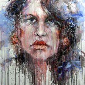 Obraz do salonu artysty Dariusz Grajek pod tytułem Hiszpanka....
