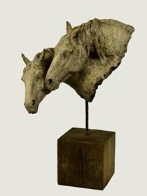Rzeźba do salonu artysty Ewa Jaworska pod tytułem Chmury