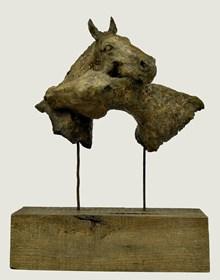 Rzeźba do salonu artysty Ewa Jaworska pod tytułem Przyjaciele