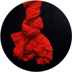 Obraz do salonu artysty Agnieszka Sitko pod tytułem Czerwony 1