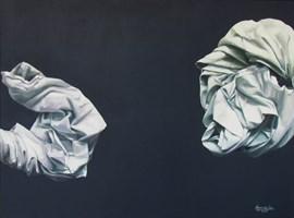 Obraz do salonu artysty Agnieszka Sitko pod tytułem Całuny III