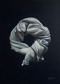 Obraz do salonu artysty Agnieszka Sitko pod tytułem Całuny IX