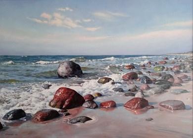 Obraz do salonu artysty Wojciech Piekarski pod tytułem Morze