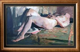 Obraz do salonu artysty Janusz Szpyt pod tytułem Akt