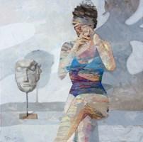 Obraz do salonu artysty Adam Wątor pod tytułem Maska