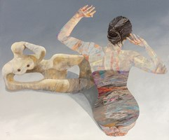 Obraz do salonu artysty Adam Wątor pod tytułem Rzeźba