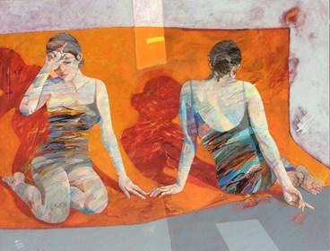 Obraz do salonu artysty Adam Wątor pod tytułem Karuzela nastrojów