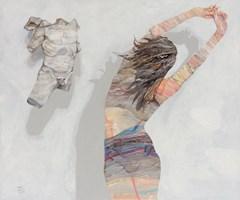 Obraz do salonu artysty Adam Wątor pod tytułem Atena