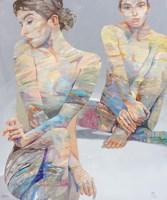Obraz do salonu artysty Adam Wątor pod tytułem Trwać z nadzieją