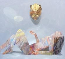 Obraz do salonu artysty Adam Wątor pod tytułem Złoty kot