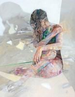 Obraz do salonu artysty Adam Wątor pod tytułem Zielono Mi