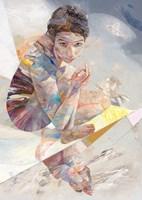 Obraz do salonu artysty Adam Wątor pod tytułem Spojrzenie