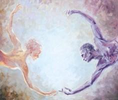 Obraz do salonu artysty Mariusz Kałdowski pod tytułem Pomiędzy 3
