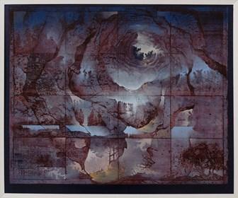 Grafika do salonu artysty Krzysztof Wieczorek pod tytułem Ja nawet nie wiem skąd biorą się te wszytskie szmery… ea