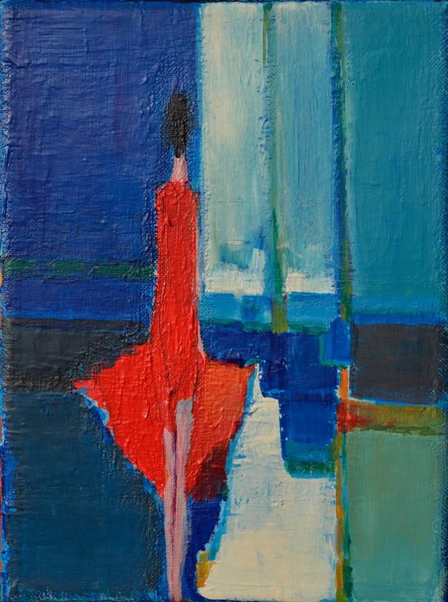 Obraz do salonu artysty Zbigniew Nowosadzki pod tytułem Chwila