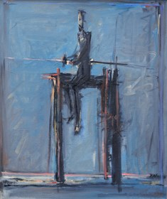 Obraz do salonu artysty Zbigniew Nowosadzki pod tytułem Don Kichot