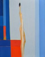 Obraz do salonu artysty Zbigniew Nowosadzki pod tytułem Oczekiwanie