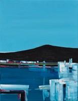 Obraz do salonu artysty Zbigniew Nowosadzki pod tytułem Syros