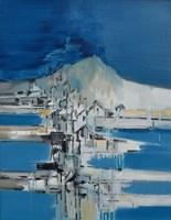 Obraz do salonu artysty Zbigniew Nowosadzki pod tytułem Mykonos