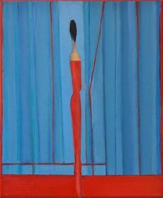 Obraz do salonu artysty Zbigniew Nowosadzki pod tytułem Zapatrzenie