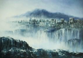 Obraz do salonu artysty Andrzej Fronczak pod tytułem Metropolis