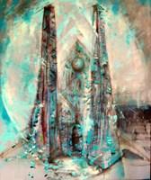 Obraz do salonu artysty Łukasz Jankiewicz pod tytułem Katedra