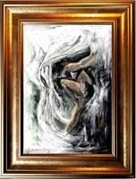 Obraz do salonu artysty J. Aurelia Sikiewicz-Wojtaszek pod tytułem Baletnica II
