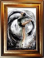 Obraz do salonu artysty J. Aurelia Sikiewicz-Wojtaszek pod tytułem Baletnica I