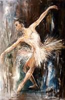 Living room painting by J. Aurelia Sikiewicz-Wojtaszek titled  A fleeting moment