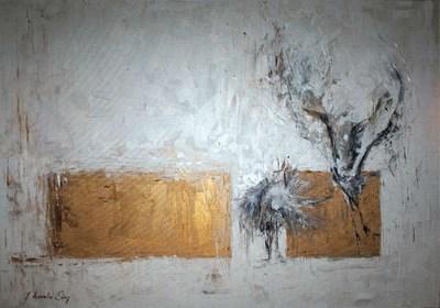 Obraz do salonu artysty J. Aurelia Sikiewicz-Wojtaszek pod tytułem Ardea alba