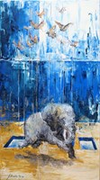 Obraz do salonu artysty J. Aurelia Sikiewicz-Wojtaszek pod tytułem Latając