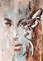 Obraz do salonu artysty J. Aurelia Sikiewicz-Wojtaszek pod tytułem Pragnienie