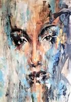 Obraz do salonu artysty J. Aurelia Sikiewicz-Wojtaszek pod tytułem PROFIL W PORTRECIE