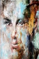Obraz do salonu artysty J. Aurelia Sikiewicz-Wojtaszek pod tytułem PORTRET Z PROFILEM