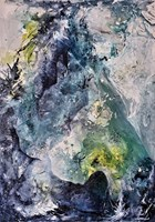 Obraz do salonu artysty J. Aurelia Sikiewicz-Wojtaszek pod tytułem PRZYJAŹŃ DOGÓW