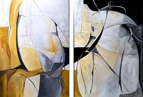 Obraz do salonu artysty J. Aurelia Sikiewicz-Wojtaszek pod tytułem JESIENNE ŁANIE