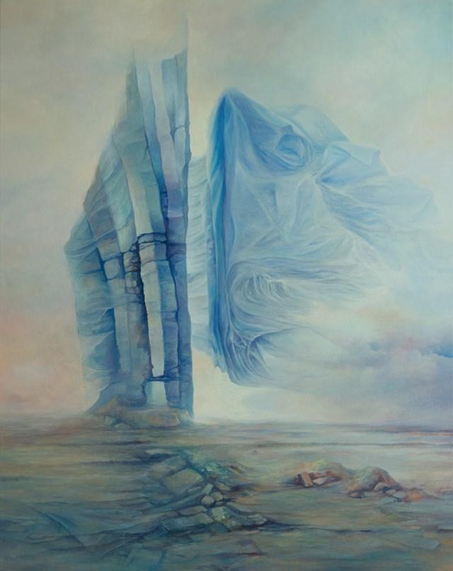 Obraz do salonu artysty Piotr Horodyński pod tytułem Ulotność skał
