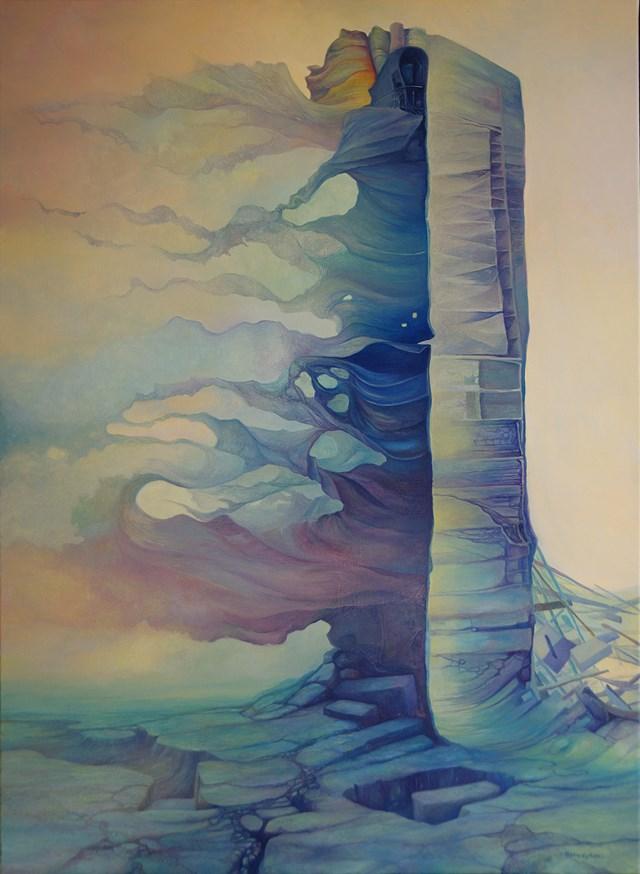 Obraz do salonu artysty Piotr Horodyński pod tytułem Bramy wczorajszego jutra