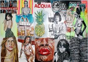 Obraz do salonu artysty Ilona  Foryś pod tytułem Magazine Collage 4