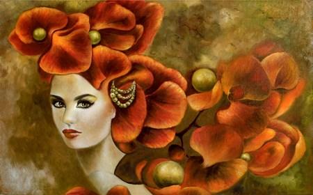 Obraz do salonu artysty Marlena Selin pod tytułem Mimosa
