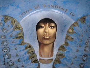 Obraz do salonu artysty Marlena Selin pod tytułem Coda Di Rondine IV
