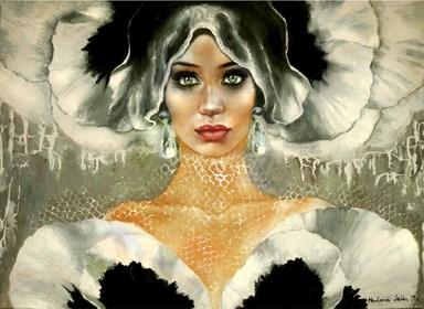 Obraz do salonu artysty Marlena Selin pod tytułem Crisalida