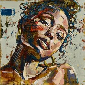 Obraz do salonu artysty Marcin Mikołajczak pod tytułem Gra