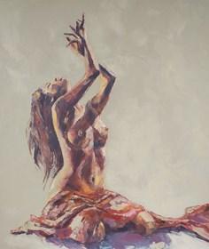 Obraz do salonu artysty Marcin Mikołajczak pod tytułem Tancerka