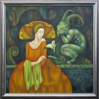 Obraz do salonu artysty Beata Krystek-Borkowska pod tytułem Laila