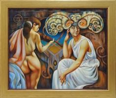 Obraz do salonu artysty Beata Krystek-Borkowska pod tytułem Sonata na skrzypce